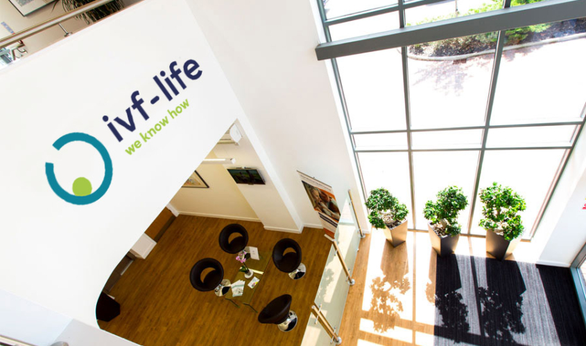 IVF Life Group merger with RHG