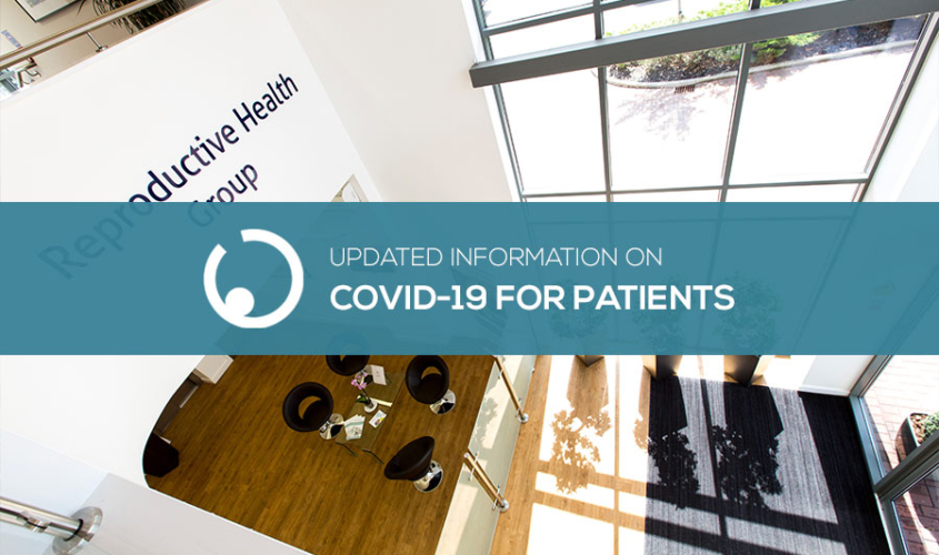 Updated information on Covid-19 for patients